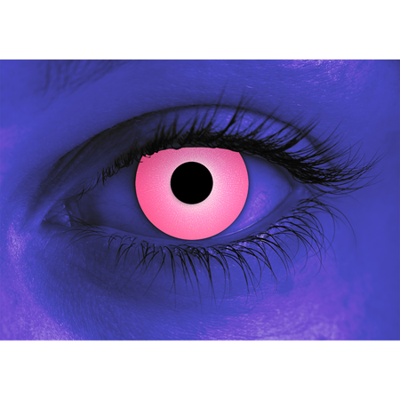 Special Effects Rave Pink Contact Lenses