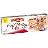 Pepperidge Farm® Puff Pastry Frozen Sheets Pastry Dough, 2 Count, 17.3 oz. Box