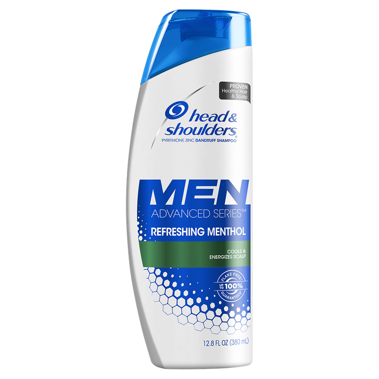 Head & Shoulders Men's Refreshing Menthol Anti-Dandruff Shampoo