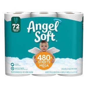 Angel Soft® 18 Mega Rolls