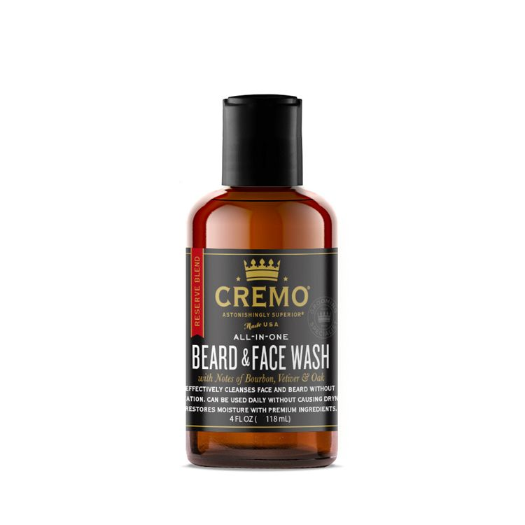 Cremo Beard & Face Wash -- Reserve Blend