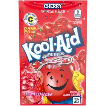Kool-Aid Unsweetened Cherry Powdered Drink Mix, Caffeine Free