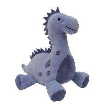 Lambs & Ivy Roar Blue Plush Dinosaur Stuffed Animal - Rex