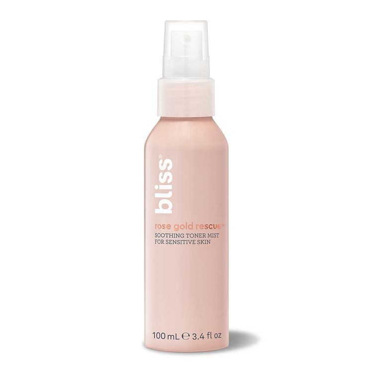 Bliss Rose Gold Rescue Rose Water Toner