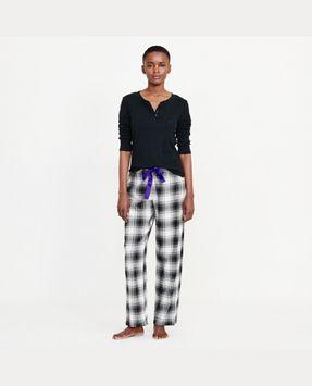 Ralph Lauren Plaid Cotton Pajama Pant