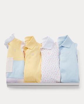 Ralph Lauren Polo Dress 4-Piece Gift Set
