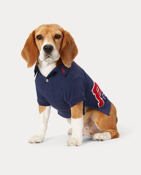 Ralph Lauren Piqué Patch Dog Polo Shirt