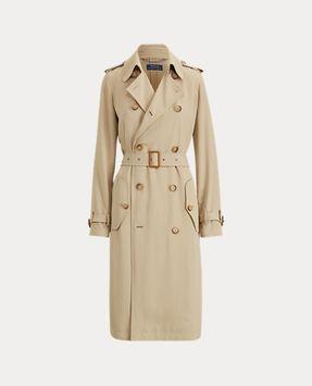 Ralph Lauren Twill Trench Coat