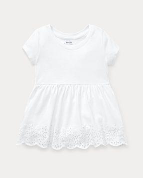 Ralph Lauren Eyelet-Embroidered Cotton Top