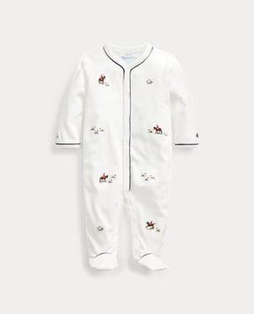 Ralph Lauren Embroidered Cotton Coverall