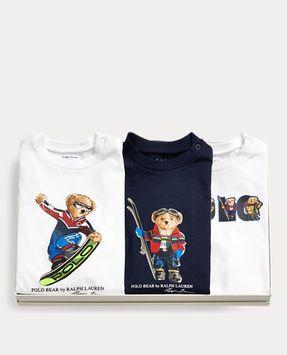 Ralph Lauren Bear Tee 3-Piece Gift Set