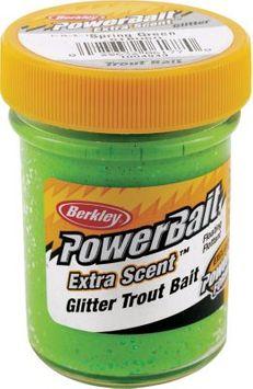 Berkley PowerBait Glitter Trout Dough - Yellow, Trout/Dough Baits