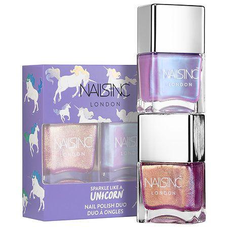 NAILS INC. Unicorn Nail Polish Duo
