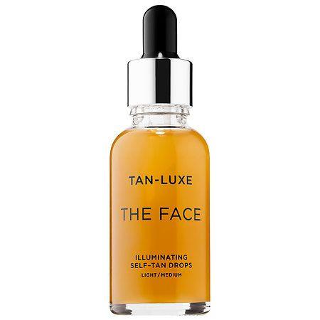 TAN-LUXE THE FACE Illuminating Self-Tan Drops Light/Medium