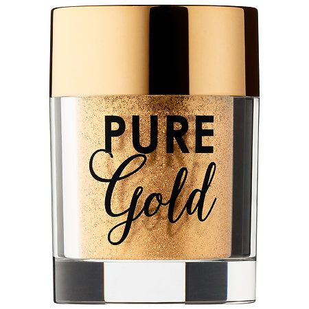 Too Faced Pure Gold Ultra-Fine Face & Body Glitter Gold 0.07 oz/ 2 g