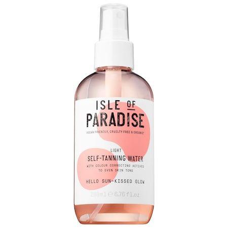 Isle of Paradise Self-Tanning Water Light 6.76 oz/ 200 mL