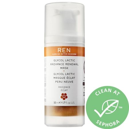 REN Clean Skincare Glycol Lactic Radiance Renewal Mask 1.7 oz/ 50 mL
