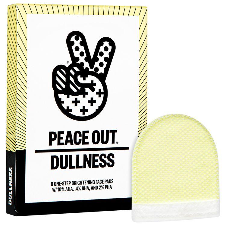 PEACE OUT AHA + BHA + PHA Brightening Peel Pads