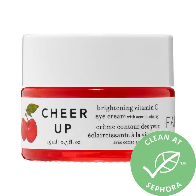 Farmacy Cheer Up Brightening Vitamin C Eye Cream with Acerola Cherry 0.5 oz/ 15 mL