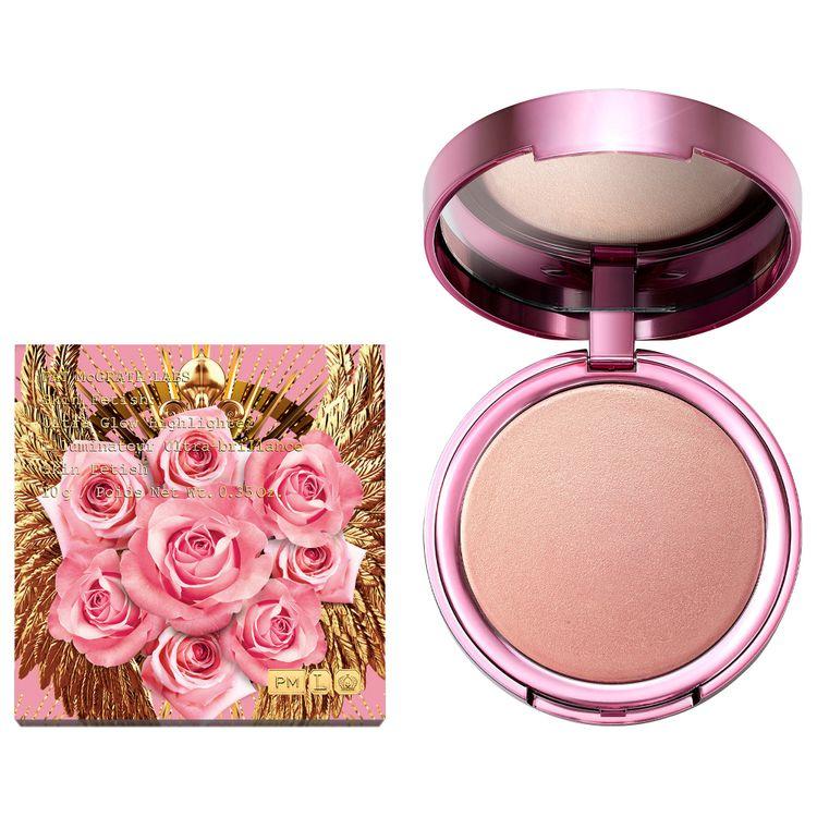 PAT McGRATH LABS Skin Fetish: Ultra Glow Highlighter - Divine Rose II Collection Divine Rose 0.35 oz/ 10 g