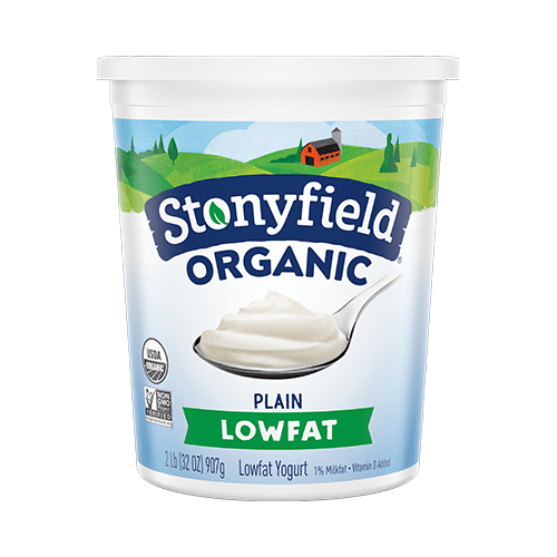 Stonyfield Low Fat Smooth & Creamy Plain