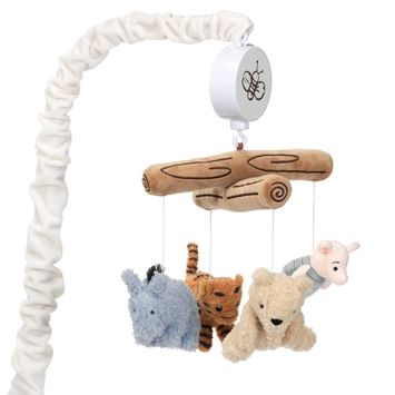 Lambs & Ivy Disney Baby Storytime Pooh Musical Baby Crib Mobile Soother Toy