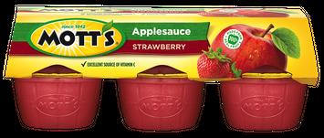 Mott's Strawberry Applesauce