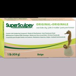 Super Sculpey - Size - 8 lb, Color - Beige