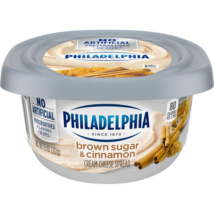 Philadelphia Brown Sugar Cream Cheese Spread, 7.5 oz Tub