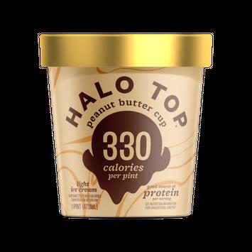 Halo Top Peanut Butter Cup Light Ice Cream Pint , 16 fl oz