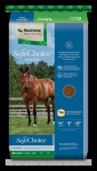 SafeChoice® Senior Horse Feed