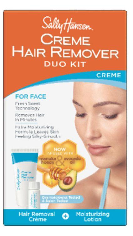 Sally Hansen Crème Hair Remover Duo Kit - For Face