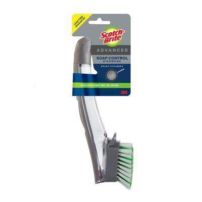 Scotch-Brite™ Advanced Soap Control Dishwand Brush Scrubber