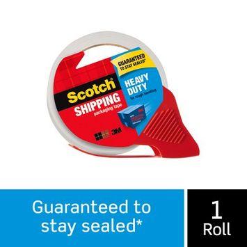 Scotch® Heavy Duty Shipping Packaging Tape, 3850-RD, 1.88 in x 54.6 yd (48 mm x 50 m)