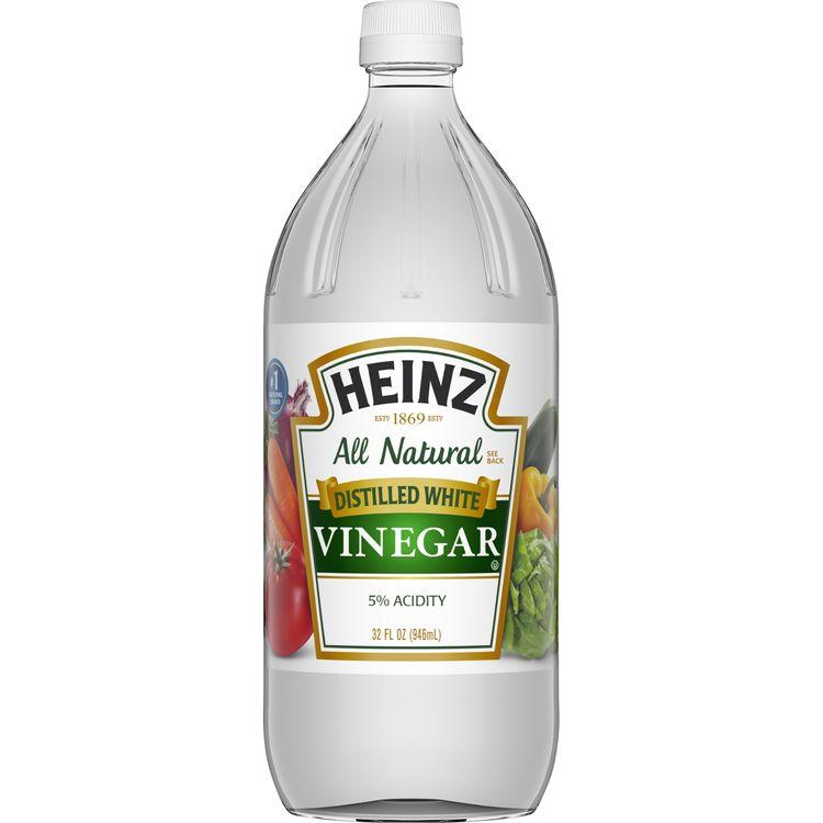 Heinz All Natural Distilled White Vinegar with 5% Acidity, 32 fl oz Bottle