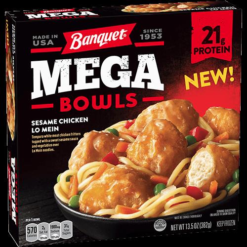 Banquet Sesame Chicken Lo Mein