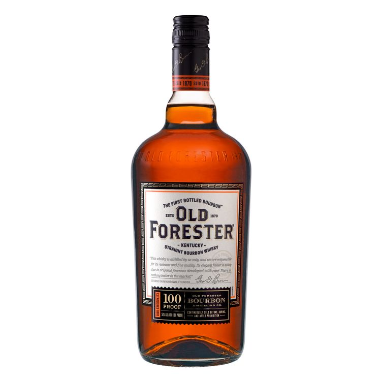 Old Forester 100 Proof Kentucky Straight Bourbon Whisky, 100 Proof