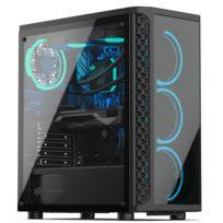 PC Gaming, AMD Ryzen 7, GTX 1650, 250Go SSD NVMe M.2 PCIe, 1To HDD, 8Go RAM, Win 10. Ref: UCM6084I2I1HF