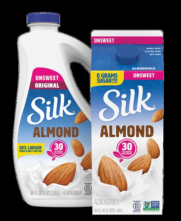 Silk Unsweet Almondmilk