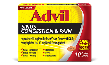 Advil® Sinus Congestion & Pain