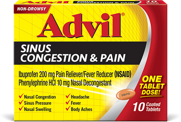 Sinus Congestion & Pain