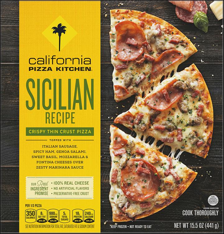California Pizza Kitchen Sicilian Recipe Pizza