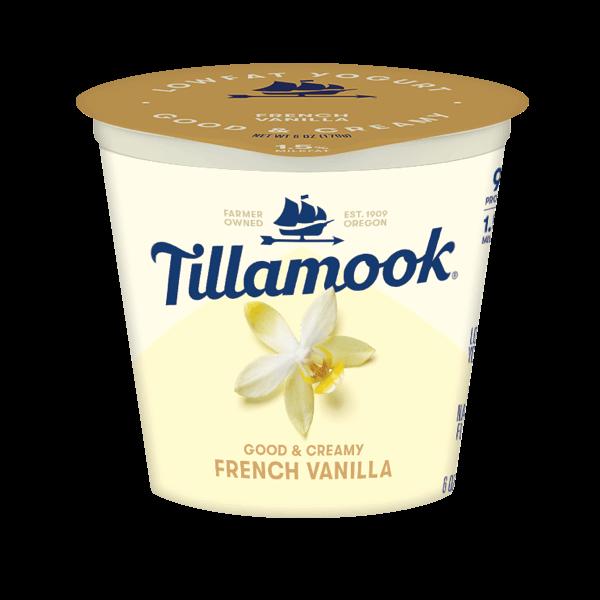 Tillmook French Vanilla Yogurt, 6oz