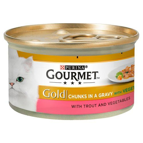 Gourmet Gold Trout and Vegetables in Gravy 85g