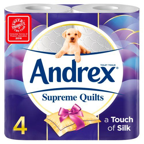 Andrex Supreme Quilts Toilet Roll Tissue