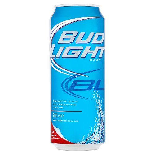 Bud Light Beer 500ml