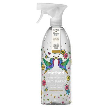 Method Johanna Basford Limited Edition Collection Hummingbird Garden Multi-Surface Cleaner 828ml