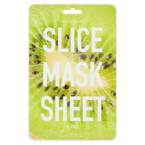 Kocostar 2 Slice Mask Sheet Kiwi 20ml