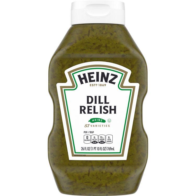 Heinz Dill Relish, 26 fl oz Bottle