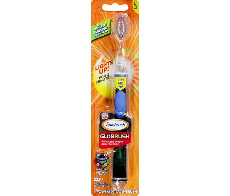 Spinbrush™ Globrush™ Battery-Powered Toothbrush